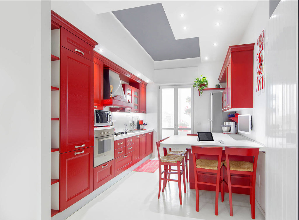 Red Kitchen - Di Nucuolo Christian