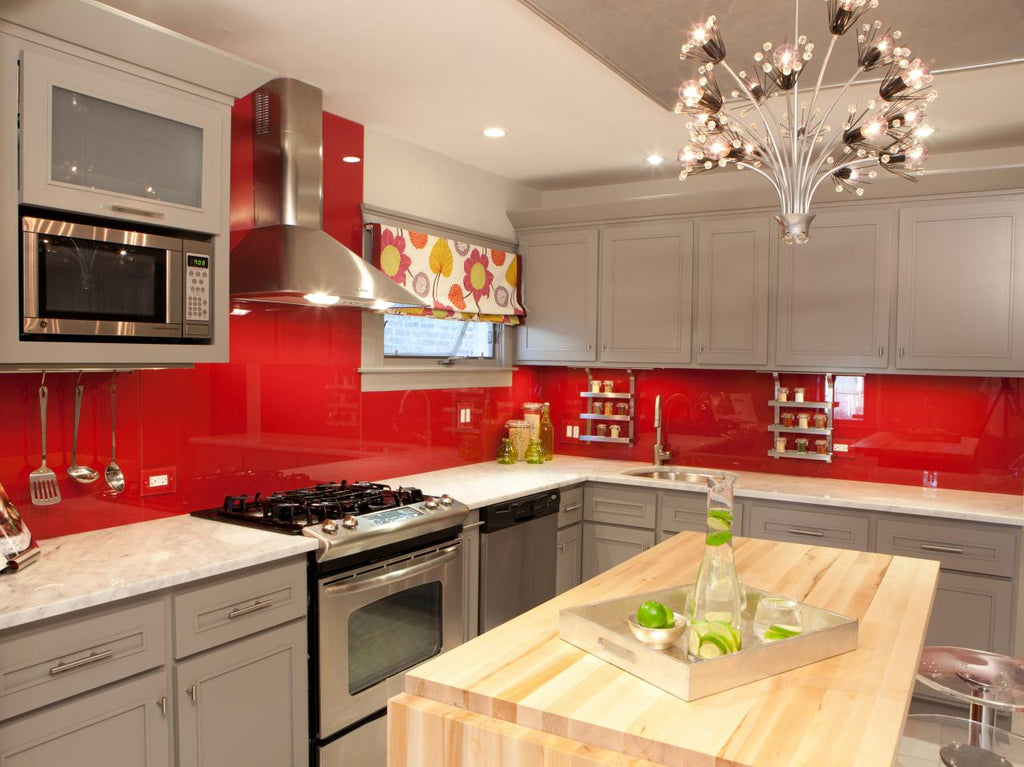 Red Kitchen - HGTV