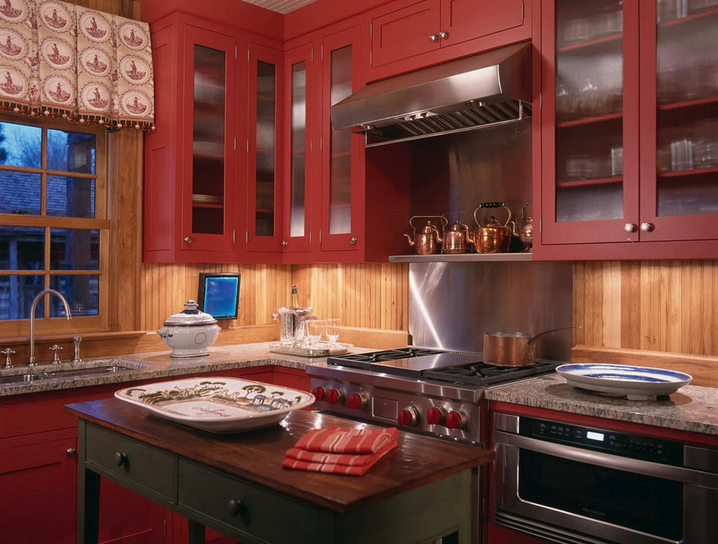 Red Kitchen - Johnson Berman