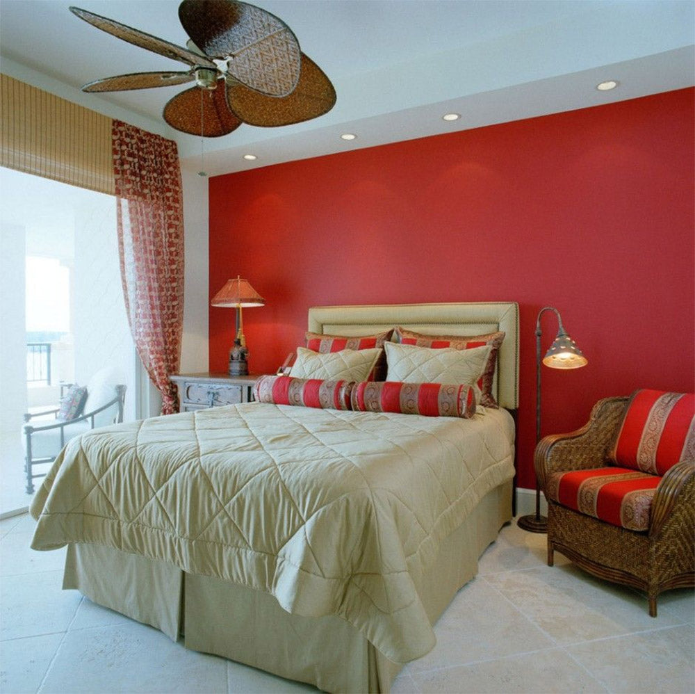 Red Bedroom - Causa Design Group