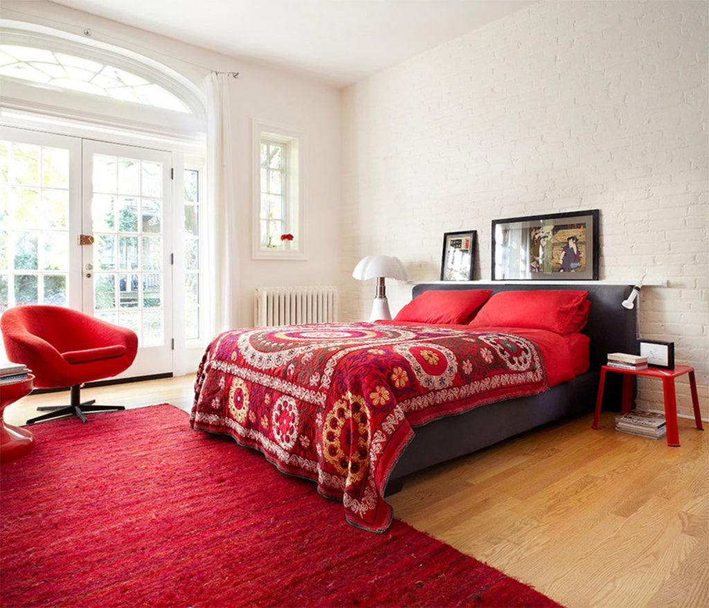 Red Bedroom - Stephane Chamard