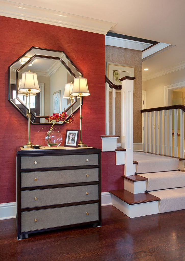 Red Foyer - Julians Interiors