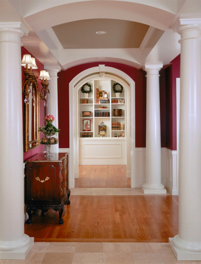 Red Foyer - Estate Homes