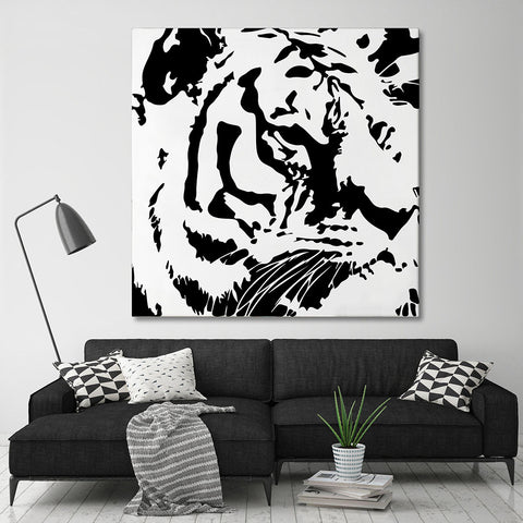 Fauna Monochrome<br>Tiger