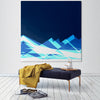 Blue Mountains Canvas Art in Room
