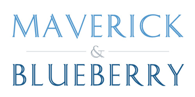 Maverick & Blueberry  logo