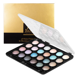 CITY COLOR 3D Baked Palette Duo (24 Eye Shadows)