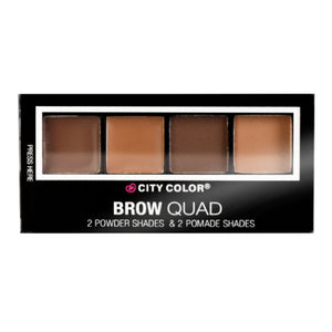 CITY COLOR Brow Quad (2 Powder Shades & 2 Pomade Shades)