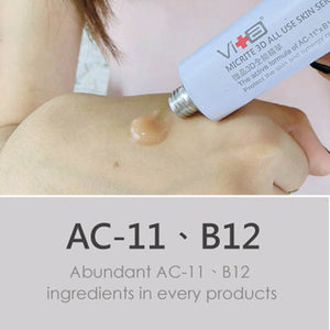 AC11 and B12 in Skin Serum