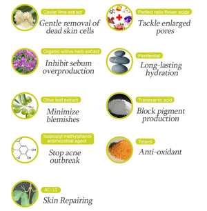Acne Serum Ingredients