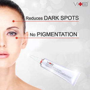 No dark spots or pigmentation