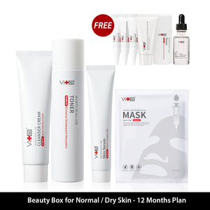 Beauty Box For Normal/Dry Skin  - 12 Months Plan