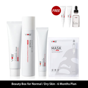 Beauty Box For Normal/Dry Skin  - 6 Months Plan