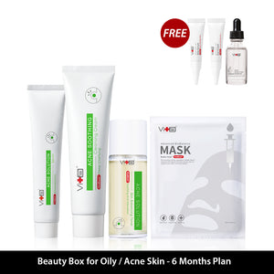 Beauty Box For Oily/Acne Skin  - 6 Months Plan