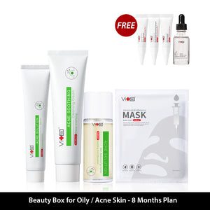 Beauty Box For Oily/Acne Skin  - 8 Months Plan