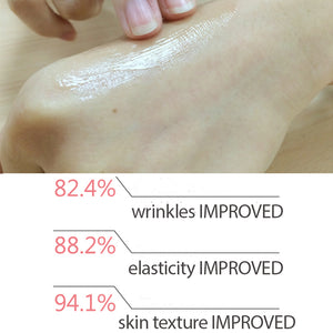 Improved skin condition after TONER