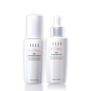 [ELLE SKINCARE Aqua Therapy Duo] Iris Concentrate + Iris Advanced Cream