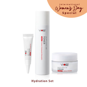 【Hydration Set】Swissvita Micrite 3D All Use Cream-60ml (VitaBtech) + Swissvita Micrite 3D All Use Toner-200ml (VitaBtech) + Swissvita Micrite 3D All Use Skin Serum 5g (VitaBtech)