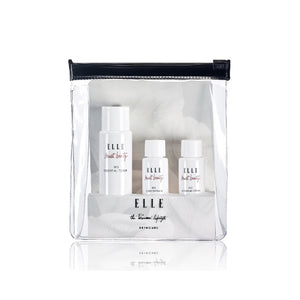 【FREE GIFT】ELLE SKINCARE Iris Travel Kit