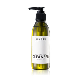 aevéop Plant Based Vegan Cleanser (175ml) Free All Use Toner 30ml (VB) + All Use Eye Cream 5g (VB)