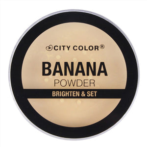 CITY COLOR Banana Loose Powder - Matte Finish