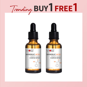 【Buy 1 Free 1】Swissvita Mandelic Acid Perfect Ratio Complex Serum (30ml x 2)
