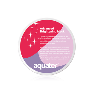 aquater Advanced Brightening Mask (260g) 【Buy 1 Free 1 Cleanser Cream 30g + 22% OFF】