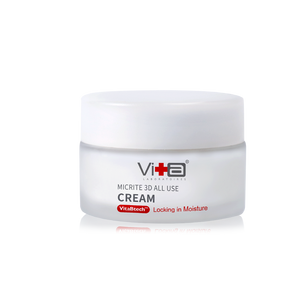 Swissvita Micrite 3D All Use Cream-60ml (VitaBtech) Free All Use Toner 30ml (VB) + All Use Eye Cream 5g (VB)