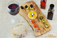 Mr Olive Wood Rustic Edge Cutting Cheese Serving Board