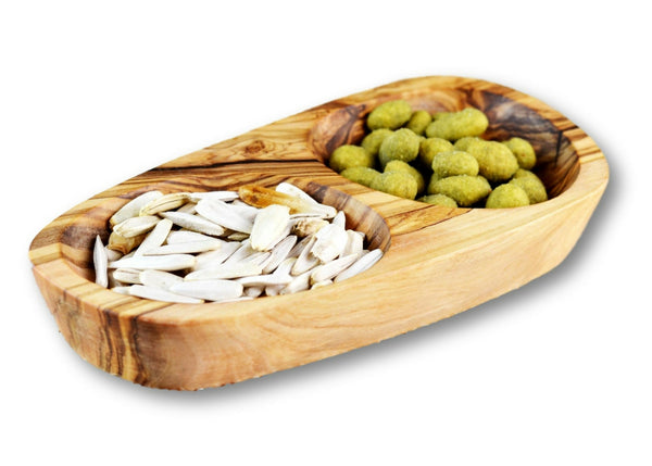 olive wood appetiser dish by mr olivewood wholesale supplier