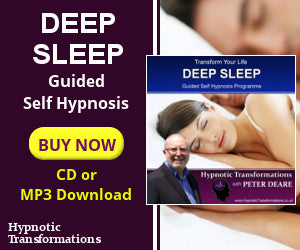 Deep Sleep Hypnosis CD or MP3 Audio Download