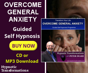 Overcome General Anxiety Hypnosis CD or MP3 Download