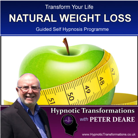 Natural Weight Loss Hypnosis Download / CD