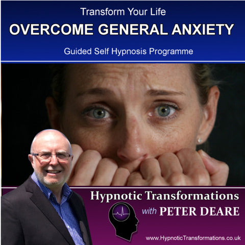 Overcome General Anxiety Hypnosis Download / CD