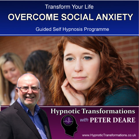 Overcome Social Anxiety Hypnosis Download / CD