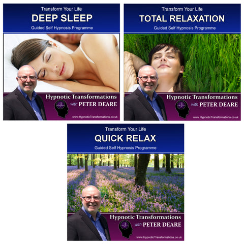 Sleep and Relaxation Hypnosis MP3 Download Package