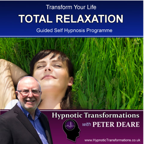 Total Relaxation Hypnosis Download / CD