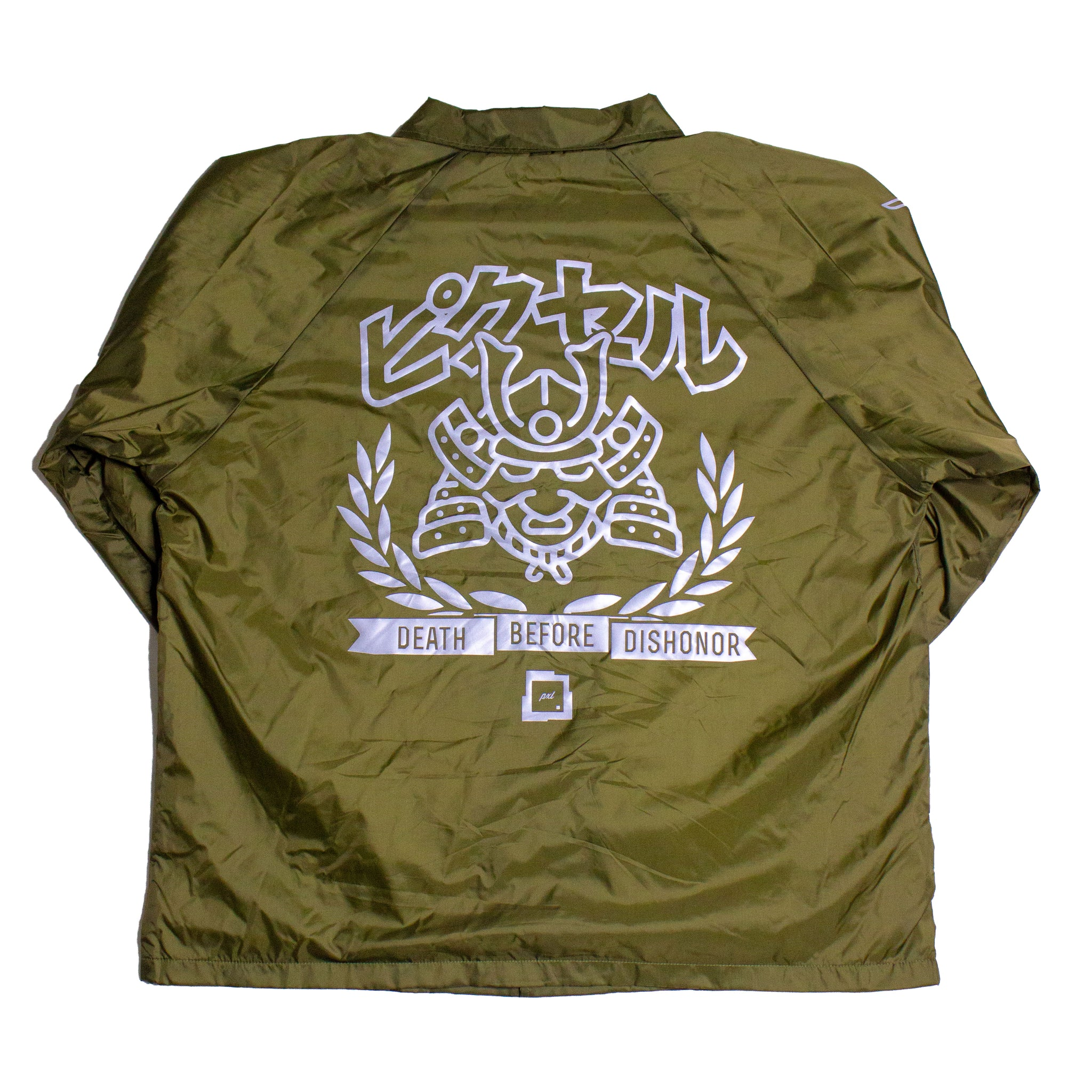 'DEATH BEFORE DISHONOR' COACH JACKET