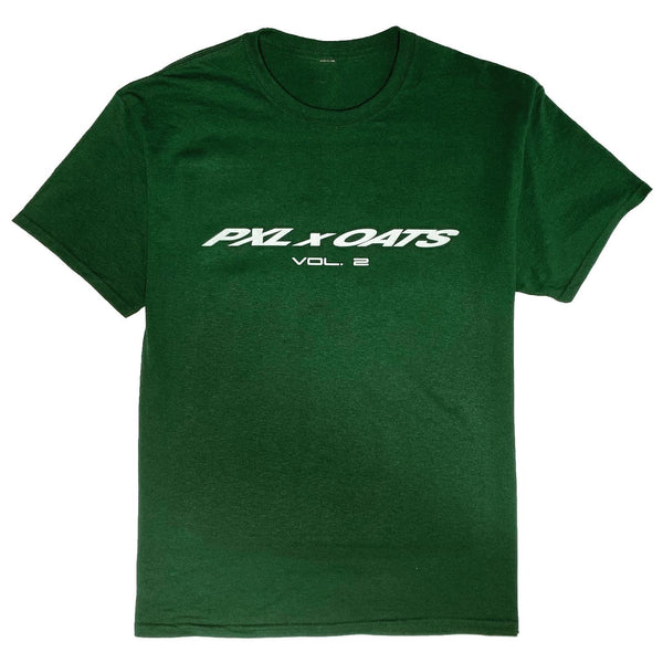 PXL X OATS Vol. 2 Tee -Forest Green
