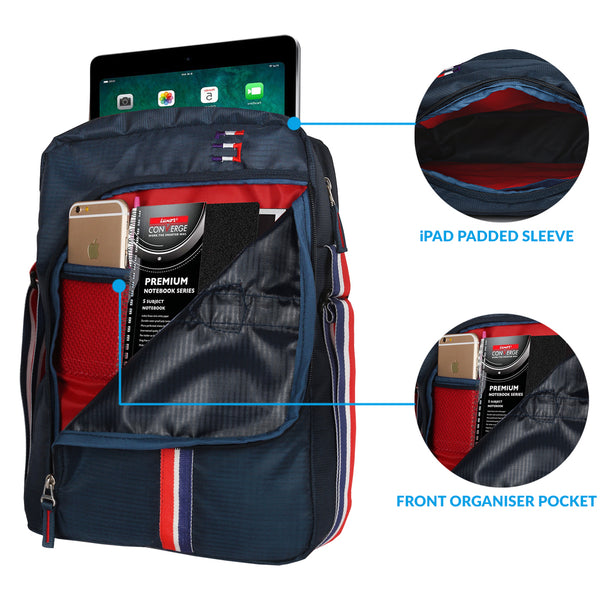 Suntop Superstar Sling Bag with iPad sleeve (Oxford Blue)