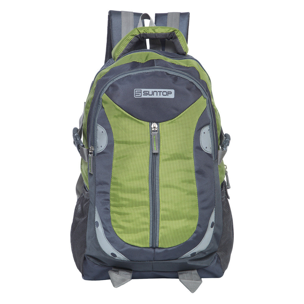 Suntop Neo 9 Reflector 26 L Backpack(Grey and Green)