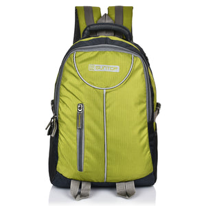 Suntop Neo 7 Laptop Backpack Bag(Grey & Grass Green)