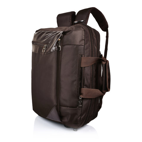 "Suntop Dexter 16 Ltrs Chocolate Brown Colour For Upto 15.6"" Laptop Bag"