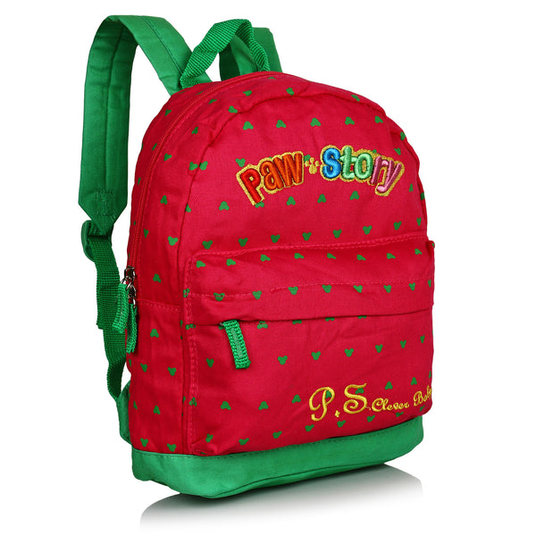 Suntop Pixel Backpack Bag(Green and Red)