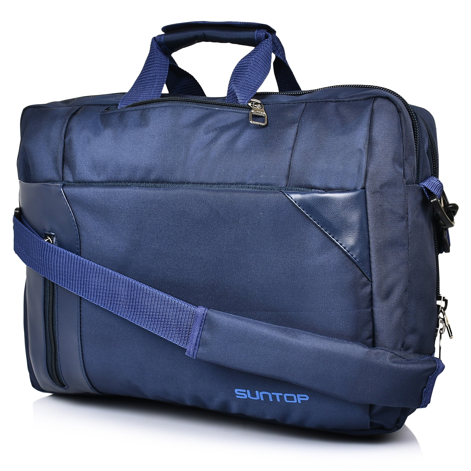"Suntop Dexter Blue Colour (15"" Laptop) 3 Way Shoulder Backpack Bag (16 L)"