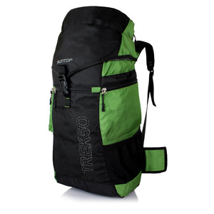 Suntop TREK 50L Travel Bag Backpacking Backpack for Outdoor Hiking Trekking Camping Rucksack(Green)
