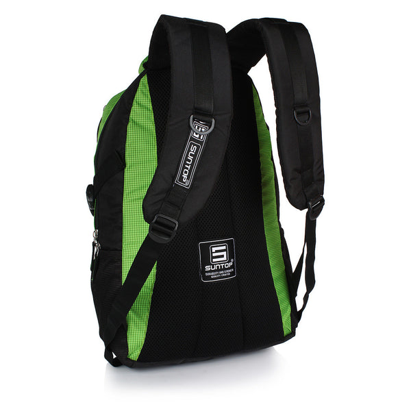 Suntop Neo 9 26 L Medium Backpack(Black and Green)