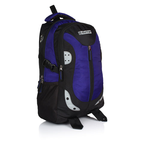 Suntop Neo 9 26 L Medium Backpack(Black and Indigo Blue)
