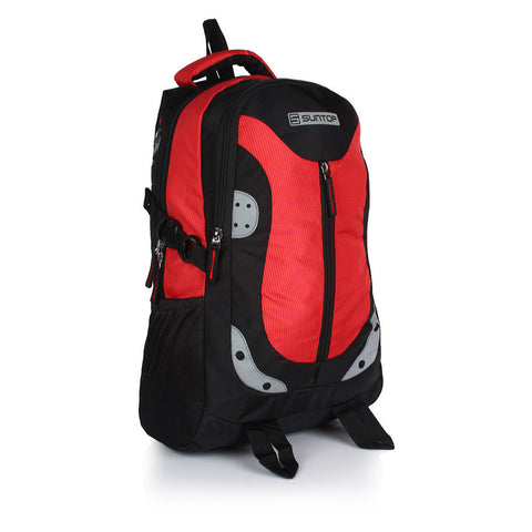 Suntop Neo 9 26 L Medium Backpack(Black and Red Checks)