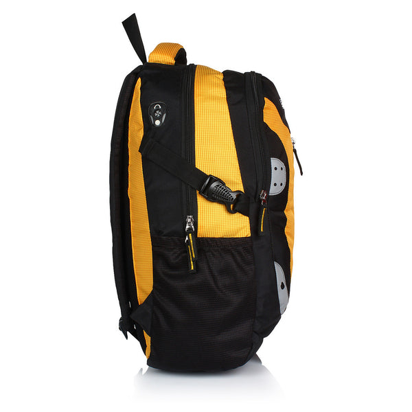 Suntop Neo 9 26 L Medium Backpack(Black and Yellow Checks)
